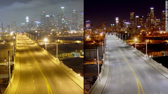 Apparently This Matters: L.A.'s fancy new streetlights