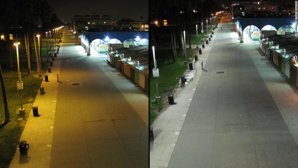 Cities Changing Streetlights To Improve Health Cnn