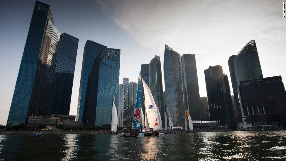 "The series travels to all manner of venues across the globe after the first ""act"" (as each regatta is known) in Singapore starting February 20."