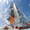extreme sailing water spray