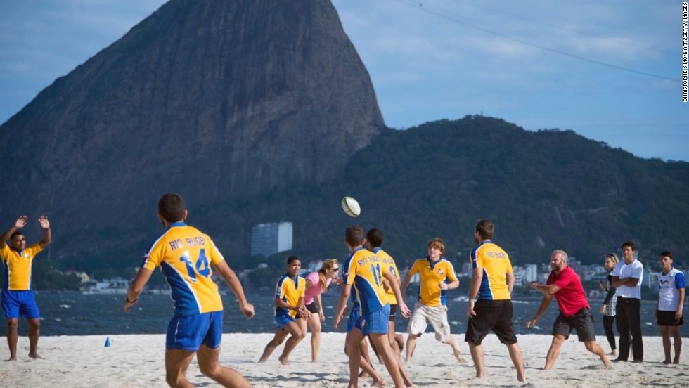 Rugby sevens will make its Olympic debut this year in Rio de Janeiro.