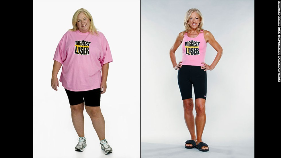 Biggest loser before and after photo