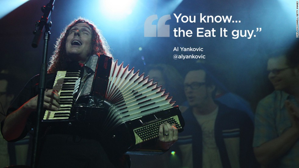 Twitter quotes Al Yankovic