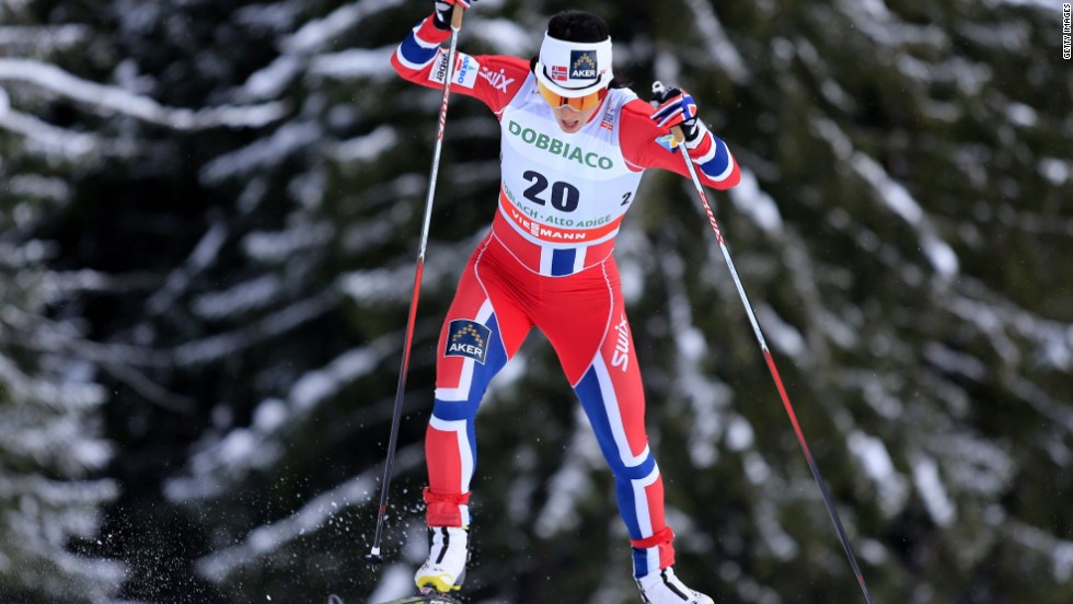 Norway's champion cross-country skier Marit Bjoergen became the most decorated female athlete in Winter Olympics history when she took home five medals from Sochi, three of them gold, to give the 33-year-old an overall total of 10.