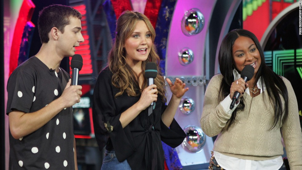 "As his fame grew, LaBeouf became part of the parade of kid stars who were becoming household names, like Amanda Bynes and Raven Symone. The trio appeared on MTV's ""Total Request Live"" in 2005."