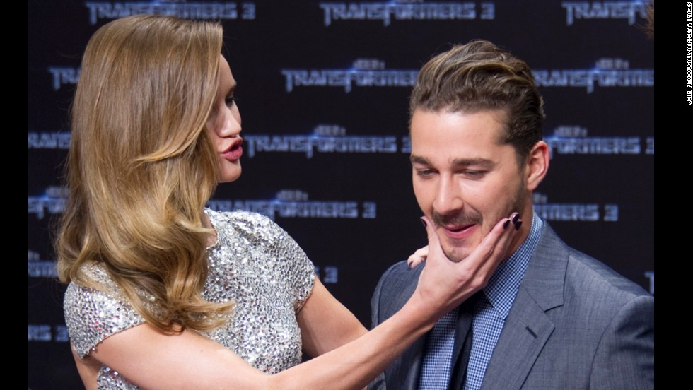 "LaBeouf's transformation included saying goodbye to the ""Transformers"" series in 2011. The actor filmed the third installment, ""Transformers: Dark of the Moon"" -- which replaced his former co-star Megan Fox with Rosie Huntington-Whiteley -- and then announced he'd washed his hands of Michael Bay's chain of blockbusters. ""I don't have anything new to contribute,"" he said that year."