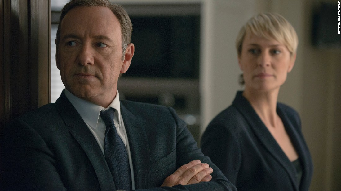 "Political thriller ""House of Cards"" may be binge-worthy by design as a Netflix original series that comes out one season at a time. But some recommend only watching a few episodes in each sitting to better savor the saga of Frank and Claire Underwood's conniving ways. The series stars Kevin Spacey and Robin Wright."
