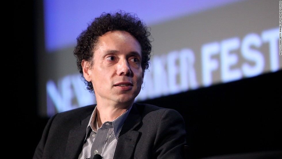"Journalist Malcolm Gladwell is of Jamaican and Irish heritage. ""I'm of mixed race,"" <a href=""http://www.cnn.com/2011/OPINION/01/24/gladwell.explain/"">he told CNN in 2011</a>, speaking of what happened when he let his hair grow. ""The minute I began to look more like people's stereotype of a black male (and) have a big Afro, I got stopped by police, and when I went through Customs at the airport, I would always get pulled out. I was getting speeding tickets left and right; it was really kind of a striking transformation in the way the world viewed me."""