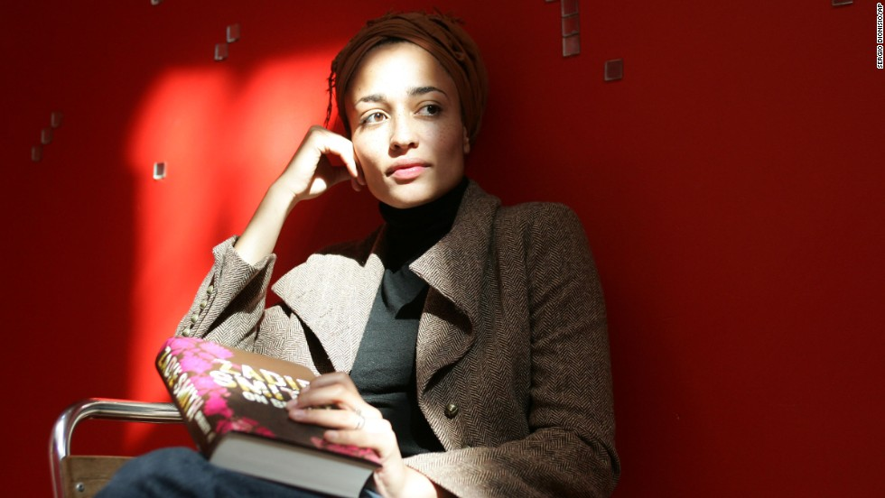 British author Zadie Smith is the child of a Jamaican mother and a British father.