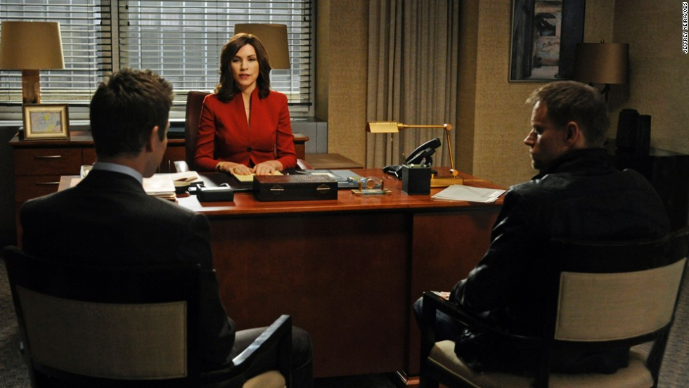 "Julianna Margulies as attorney Alicia Florrick in ""The Good Wife."""