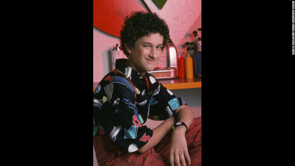 "Who could forget Diamond as Screech Powers on ""Saved by the Bell?"""