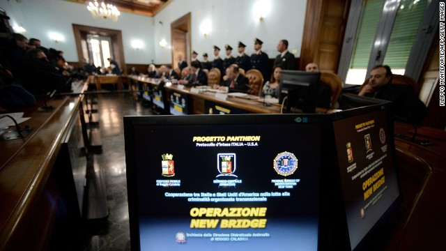 Operation New Bridge connected drugs gangs in Italy, the U.S. and South America.