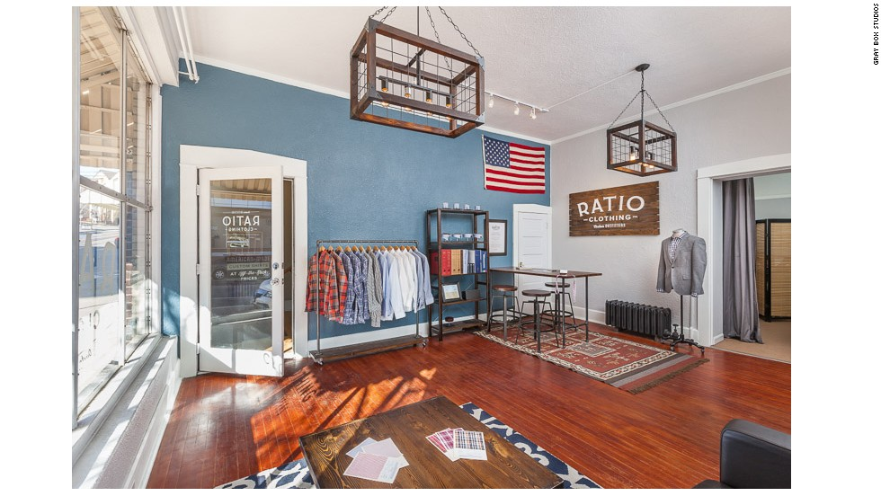 Buoyed by growing sales, Ratio Clothing expanded from an online business out of Powell's home to a storefront in downtown Denver in 2013.