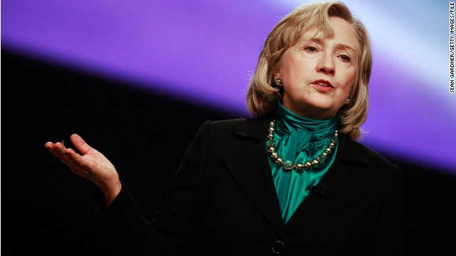 Clinton: 'Thick skin' needed for politics