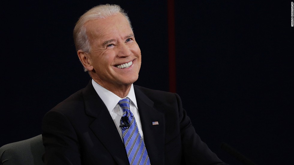 Joe Biden reacts to a question during the 2012 vice presidential debate with Republican Rep. Paul Ryan at Centre College in Danville, Kentucky. Click through the images to see Biden being Biden.