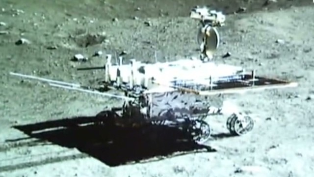 "China's lunar rover ""resurrected"""