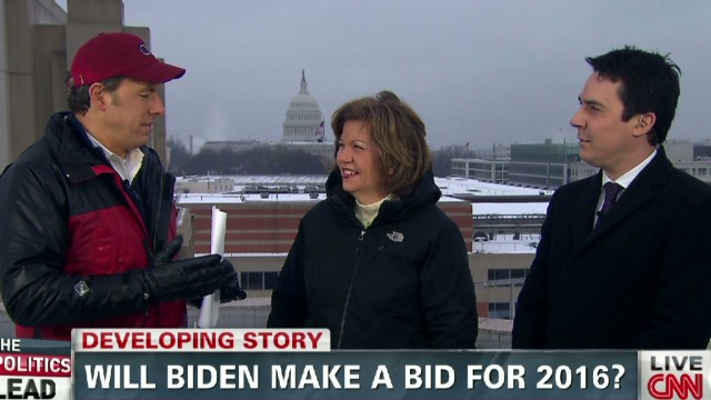Will Biden make a bid for 2016?