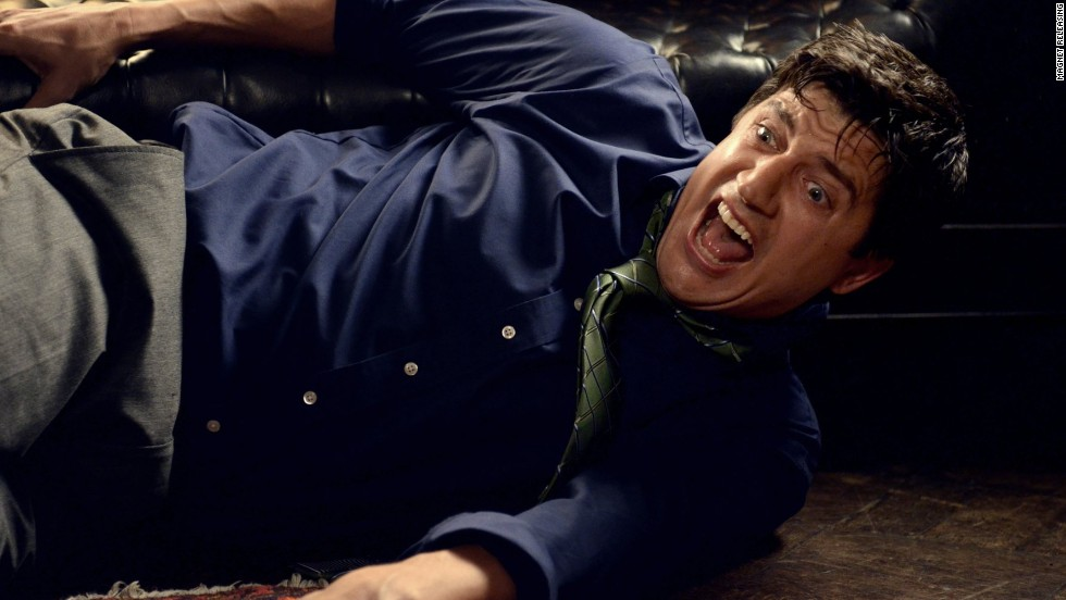 "Before we see Ken Marino on the big screen in March's ""Veronica Mars"" movie, we can catch him in the horror comedy <strong>""Bad Milo""</strong> alongside Gillian Jacobs. Marino plays a young married guy with a boss and mother who are so nightmarish, the stress causes a creepy cretin to grow in his digestive tract. (Available February 20.)"
