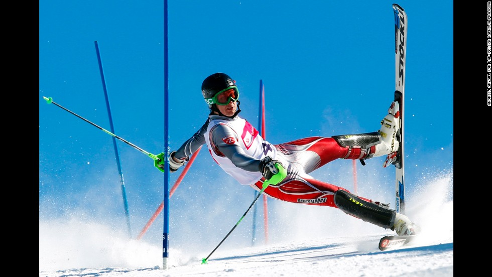 <strong>2nd Prize Sports Action Single:</strong> A competitor at a slalom contest in Szczyrk, Poland.