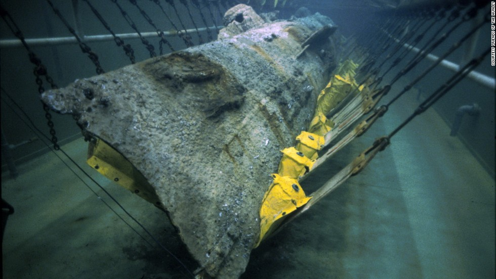Since 2000, scientists, historians and a genealogist have studied the first submarine to sink an enemy vessel. The H.L. Hunley did just that more than 150 years ago, on February 17, 1864, during the American Civil War.