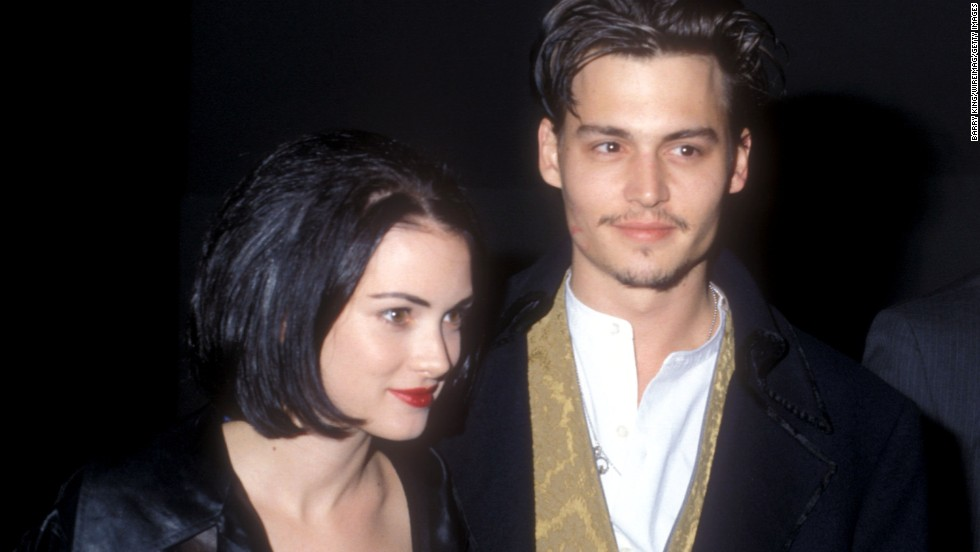 "The proof of Depp's love for Winona Ryder was once permanently inked on the actor's lanky frame. The ""Edward Scissorhands"" co-stars met on the set of the 1990 film, and were romantically involved for four years. Although they got engaged, the relationship didn't last, and neither did Depp's ""Winona Forever"" tattoo. He had it altered to read ""Wino Forever."""