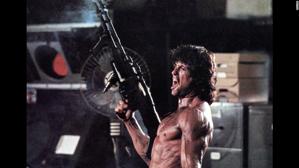 """Rambo: First Blood Part II"" kills it - but not in a good way. It took the worst picture Razzie in 1986."