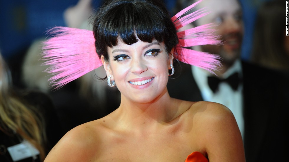 "The <a href=""https://www.bafta.org/"" target=""_blank"">British Academy of Film and Television Arts</a>  hands out its film awards on Sunday, February 16, at the Royal Opera House in London. Here, Lily Allen poses on the red carpet. Click through to see other arrivals at the BAFTA awards:"