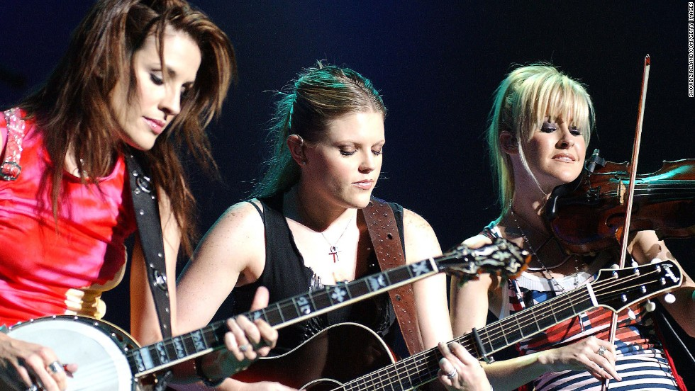 "<a href=""http://www.cnn.com/2003/SHOWBIZ/Music/03/14/dixie.chicks.reut/"">Lots of country radio stations refused to play tunes by the Dixie Chicks</a> in March 2003 after lead singer Natalie Maines said during a concert in London that she was ""ashamed the President of the United States is from Texas."""