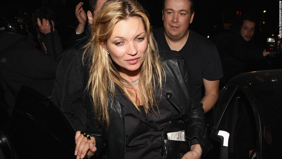 "In 2005, a British paper published photos of what they claimed showed model Kate Moss using cocaine. <a href=""http://www.cnn.com/2006/WORLD/europe/06/15/britain.moss/index.html"">She was not charged,</a> but did enter drug rehab after the allegations."