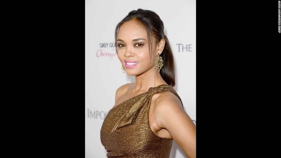 "Actress Sharon Leal is the daughter of a Filipino mother and African-American father. ""I think when you look at me it's glaringly obvious that I'm black and for some reason Asian doesn't exactly scream out at you,"" she <a href=""http://www.bet.com/news/celebrities/2012/04/13/q-a-sharon-leal-talks-new-movie-and-being-biracial-in-hollywood.html"" target=""_blank"">told BET.com</a>. ""And I definitely identify with my African-American side more. That's how people perceive me and I'm fine with that."""