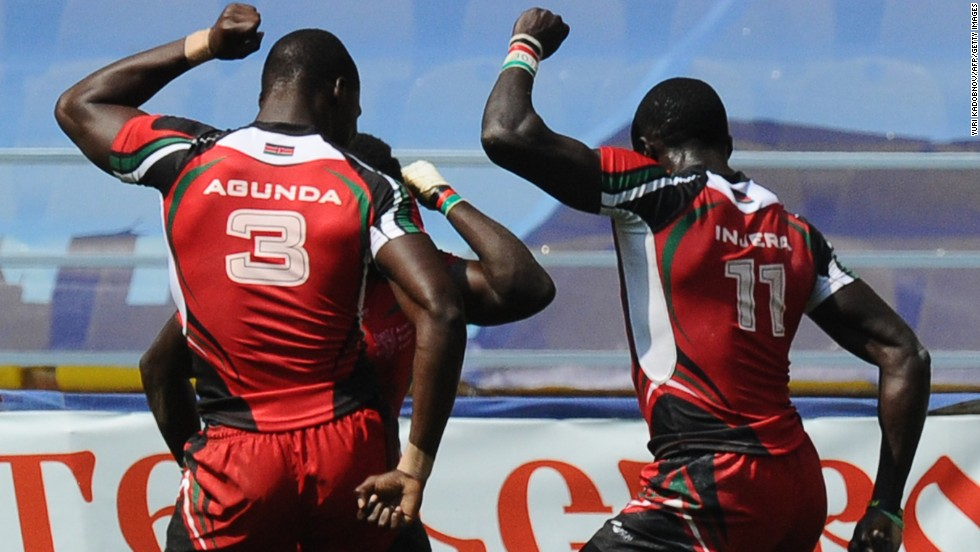 Kenya have become firm favorites on the sevens circuit, partly due to their exuberant post-match dancing celebrations.