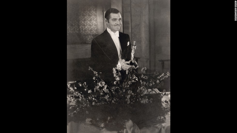 "Clark Gable's status as a Hollywood icon was cemented when the box-office star won the best actor Oscar for Frank Capra's ""It Happened One Night"" (1934). The screwball comedy was a massive hit with academy voters at the February 1935 ceremony, sweeping the five big categories -- best picture, best director (Capra), best adapted screenplay and  best actress (Claudette Colbert)."