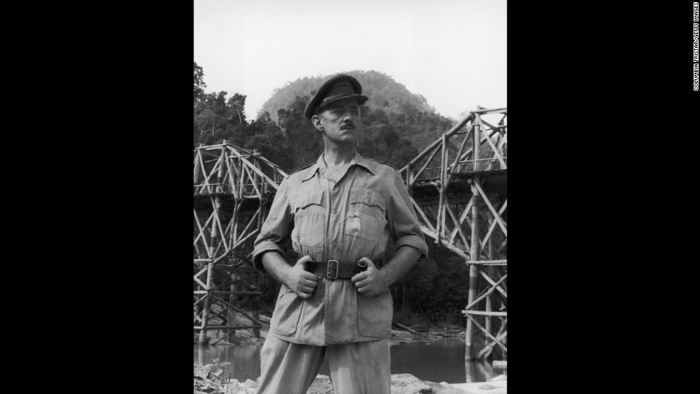 "British actor Alec Guinness will always be known to ""Star Wars"" fans as Obi-Wan Kenobi, but he had an illustrious career on stage and screen long before the George Lucas blockbuster. After losing an earlier Oscar nomination, he finally won the best actor award as a World War II British officer in ""The Bridge on the River Kwai."""