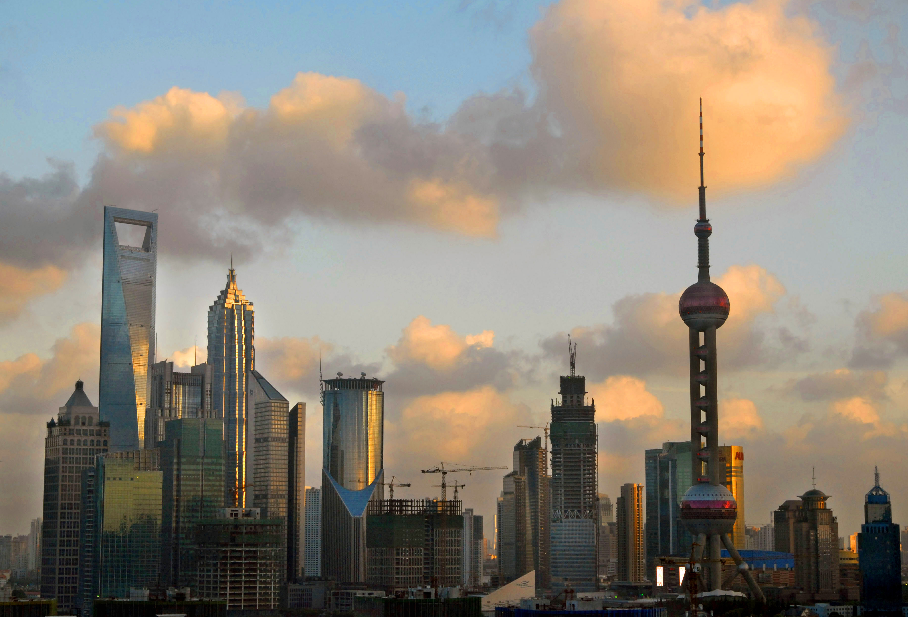 Shanghai Tower In China Has World's Fastest Elevator CNN Style Fascinating China Tallest Building Shanghai Tower Gets Final Beam