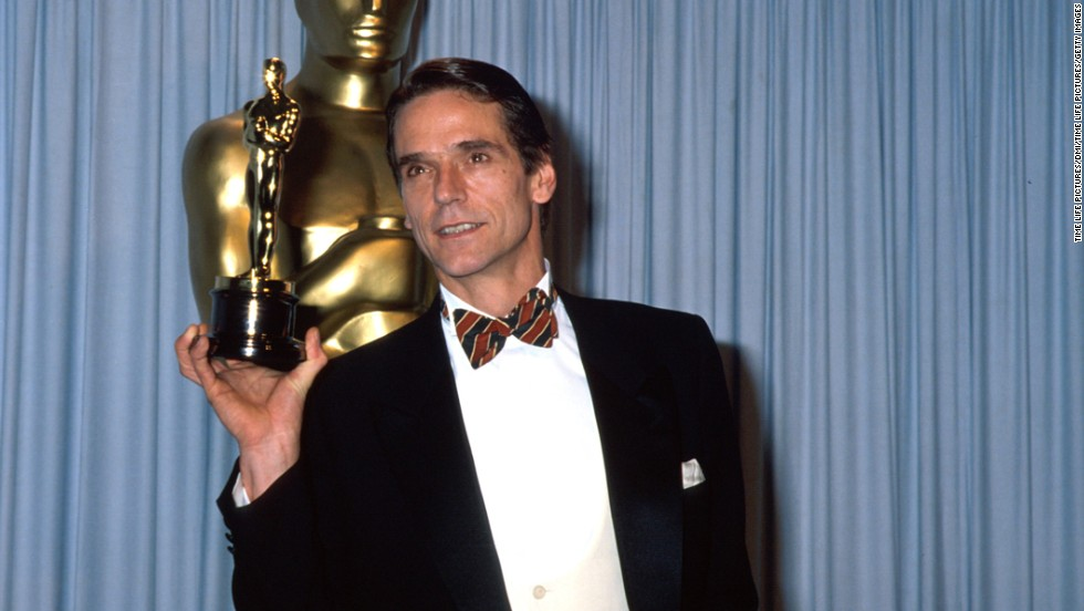 "We suppose the academy couldn't justify giving Kevin Costner the best director, best picture <em>and </em>the best actor prize for ""Dances With Wolves,"" so Jeremy Irons took home the statuette for best actor for his role as Claus von Bülow in ""Reversal of Fortune."""