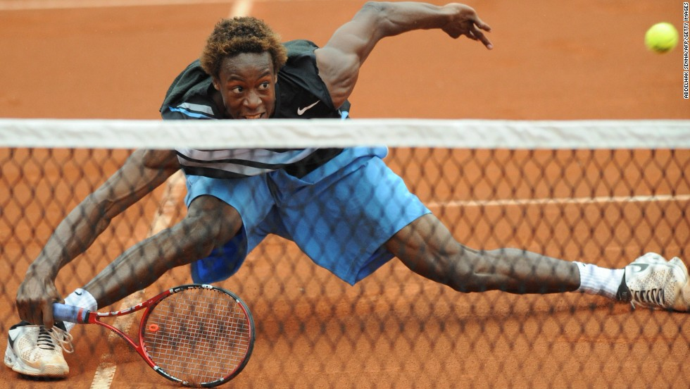 Murray described Monfils as probably tennis' best ever athlete but the elastic 27-year-old has made it to only one grand slam semifinal and rarely sparkles at big tournaments outside France.
