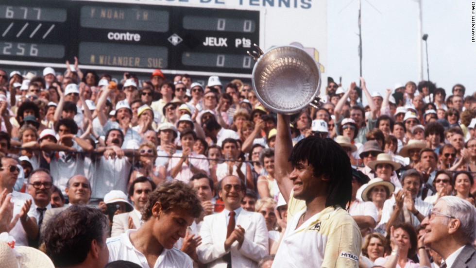 It's 31 years since a Frenchman last won a grand slam singles title. Yannick Noah achieved the feat at Roland Garros in 1983, downing Mats Wilander.