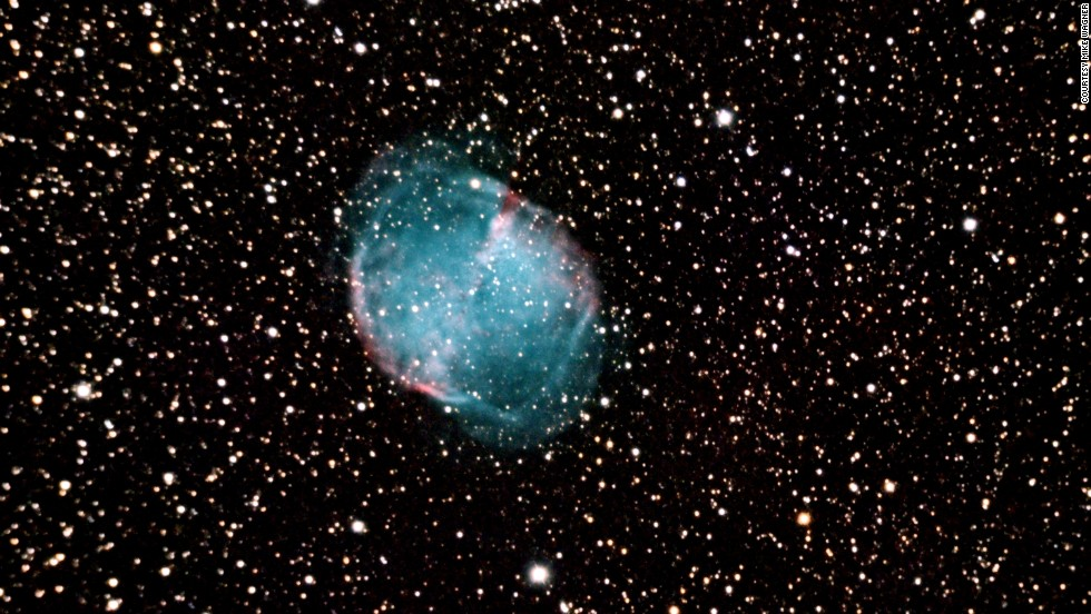 "Using this park's telescope, you can see deep sky objects such as the <a href=""http://www.nasa.gov/mission_pages/spitzer/multimedia/pia14417.html"" target=""_blank"">Dumbbell Nebula</a>. The nebula is the remains of exploded stars and stretches 4.5 light years across."