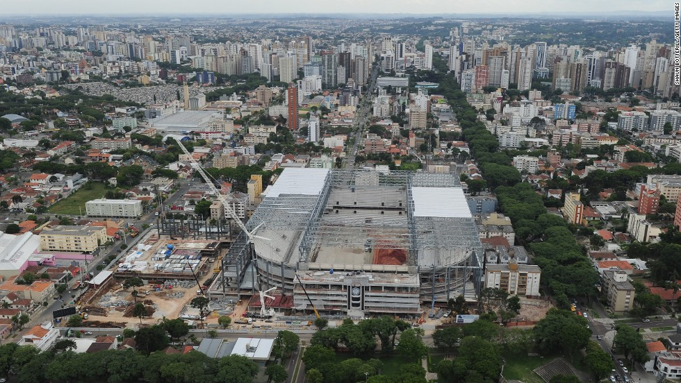 Curitiba stadium retains World Cup status