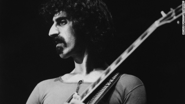 A tour next year will feature a hologram of the late Frank Zappa, here on tour in Europe around 1970.
