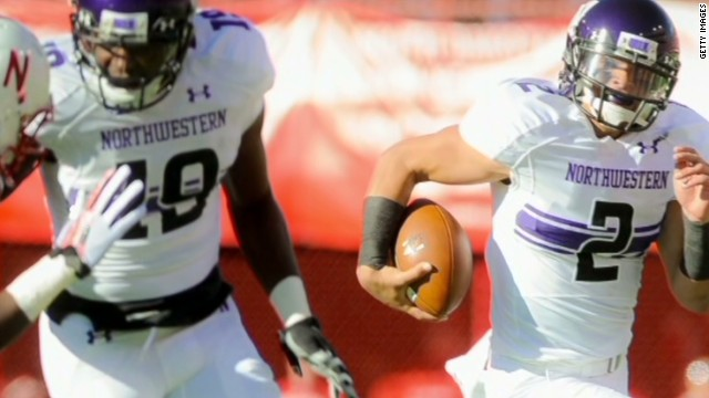 Northwestern football players want union