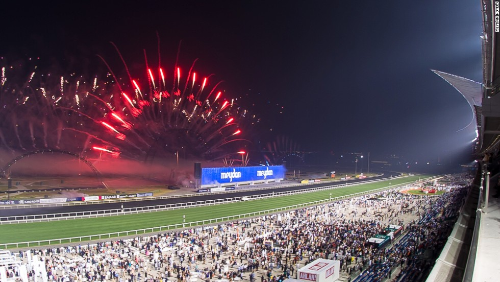 The Meydan can accommodate over 60,000 spectators on a race day, the highlight of which is the annual Dubai World Cup Group One race.