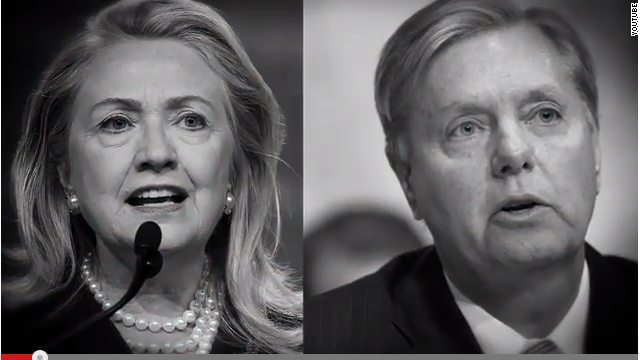 Sen. Graham slammed for praising Hillary