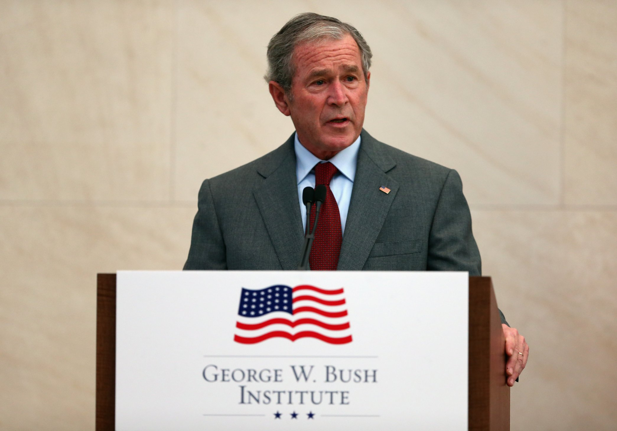 leadership style of george w bush George w bush: a transformational leader at midterm authors authors and affiliations stanley a renshon chapter 12 downloads part of.