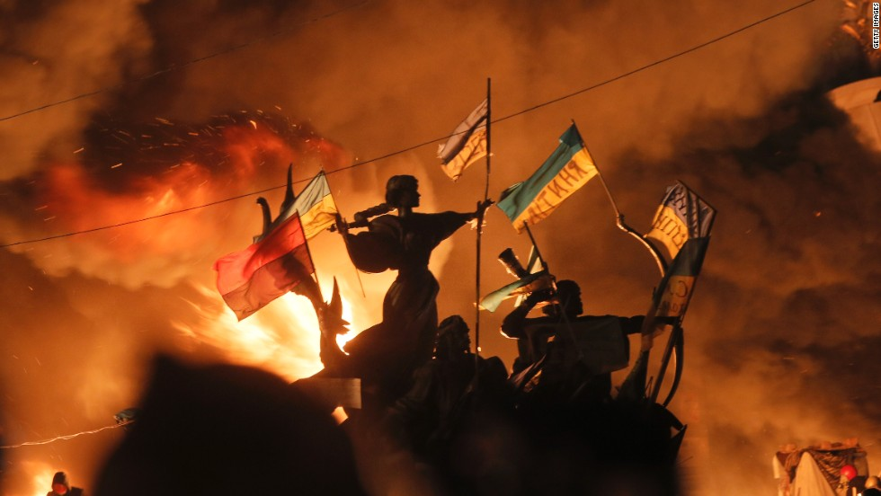 Ukraine's president announced it would accept a massive $15 billion loan deal from Russia last year, touching off deadly protests in the country that have left dozens dead and its capital in flames.