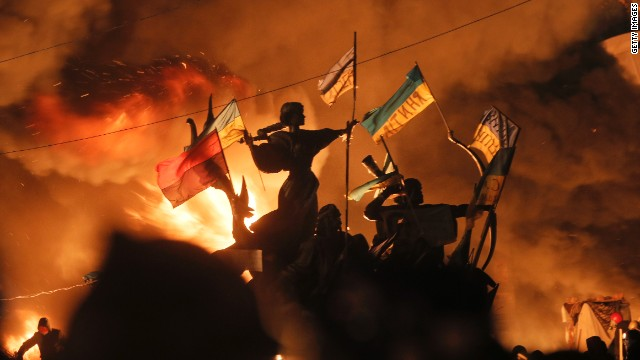 New violence in Ukraine