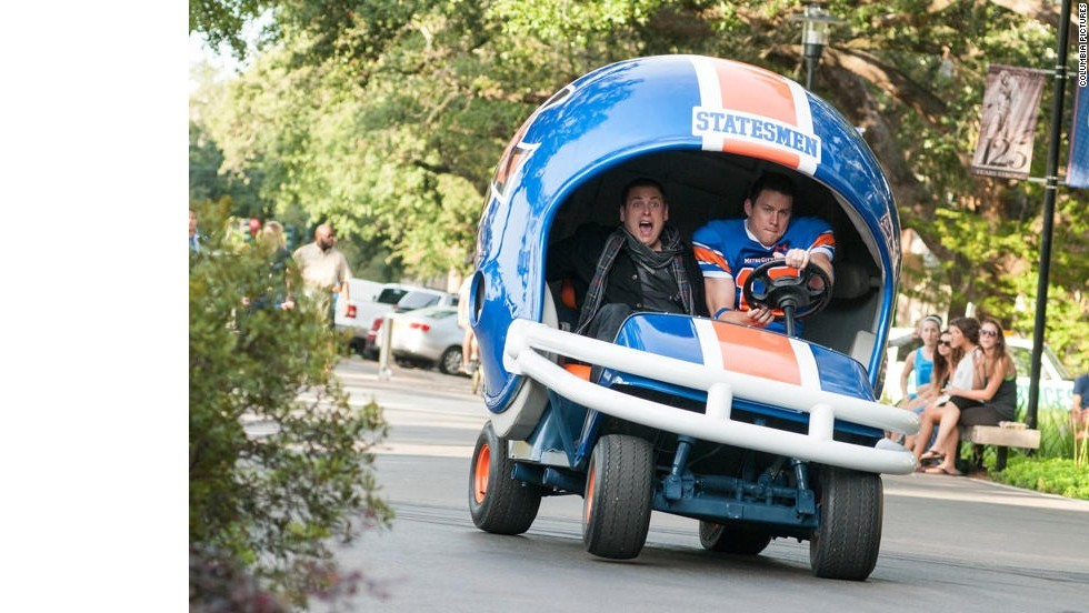 "It wasn't the greatest summer for Hollywood, but it could have been worse. <strong>""22 Jump Street""</strong> proved that sequels didn't have to be the same old-same old -- mainly by making fun of the fact that it was, indeed, the same old-same old. The Jonah Hill-Channing Tatum vehicle earned $190 million (on a $50 million budget)."