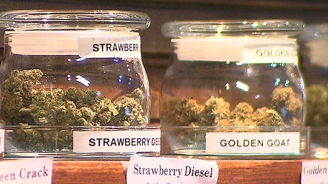 Colorado collects taxes on pot sales