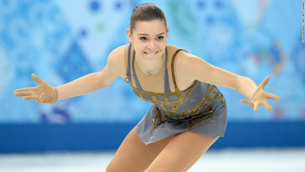 Sotnikova's program had seven triple jumps.