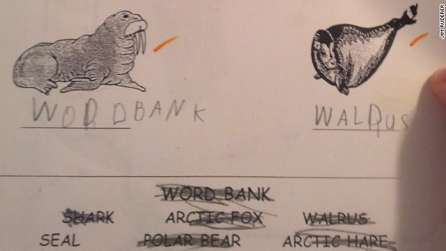 Jim Ruderer shared his son's schoolwork on Reddit, altering marine mammal nomenclature all over the Web, overnight.